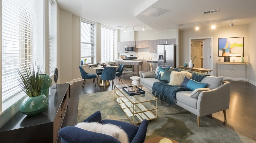 Spectra at Sibley Square offers luxury living, gorgeous views