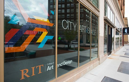 RIT City Art Space ushers in a new creative era for downtown Rochester Inaugural exhibit features the works of Willie Osterman and Leonard Urso